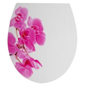 WC Sitz, Orchidee