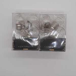 Microdraht mit Mini-LED-Glühbirnen, ca. 285 cm, verschiedene Leuchtfarben