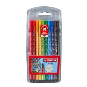 Stabilo Fasermaler, 10 Stück, verschiedene Farben