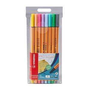 Stabilo Fineliner, 8 Stück, unterschiedliche Farben
