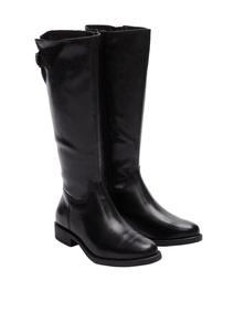 Damen Fabricmix-Stiefel mit Riegel