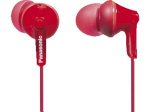 PANASONIC RP-HJE125 E-R, In-ear Kopfhörer, Rot