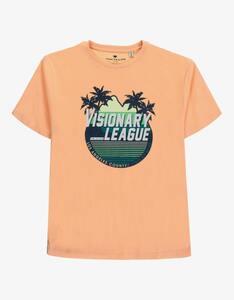 Tom Tailor - Boys T-Shirt mit sommerlichem Brustdruck