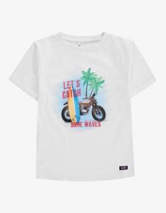 Tom Tailor - Mini Boys T-Shirt mit Motto-Druck