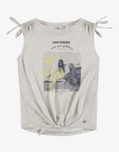 Tom Tailor - Girls ärmelloses Shirt mit Frontprint
