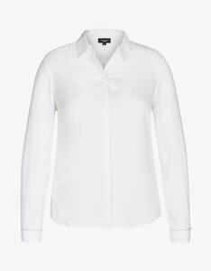 Bexleys woman - Hemdbluse mit Kettenbesatz und Cacharelfalte