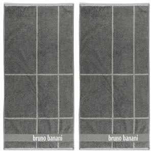 Bruno Banani Handtuch, Anthrazit - 2er-Set