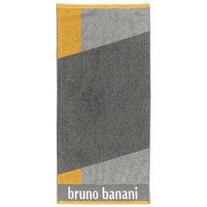 Bruno Banani Duschtuch - Grau/Gelb