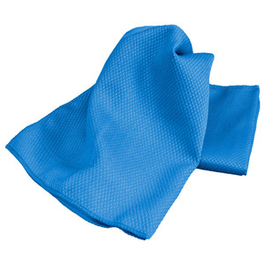 Cook o´ Fino Mikrofaser-Glaspoliertuch, Blau - 2er-Set