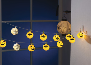 IDEENWELT LED-Halloween-Lichterkette