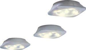 IDEENWELT 3er-Set LED-Unterbauleuchten