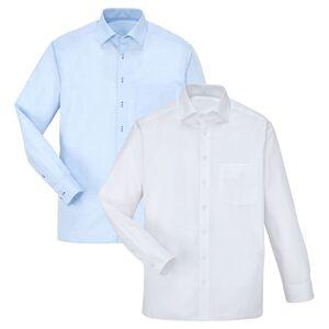 ROYAL CLASS SELECTION Herren Hemd, Regular Fit 2er-Set