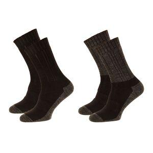 CRANE®  Damen und Herren Outdoor-Socken 2 Paar