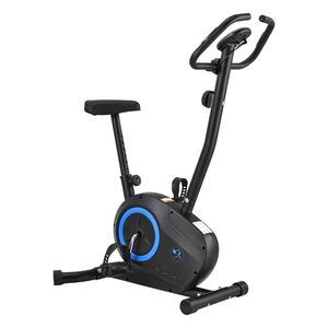 ArtSport Ergometer Rapidero – Heimtrainer Fahrrad mit 5 kg Schwungrad, Riemenantrieb & Pulssensoren