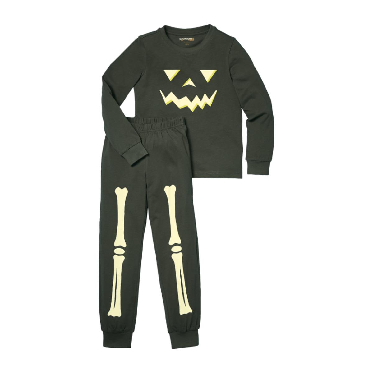 Bild 4 von POCOPIANO     Halloween-Pyjama, glow in the dark