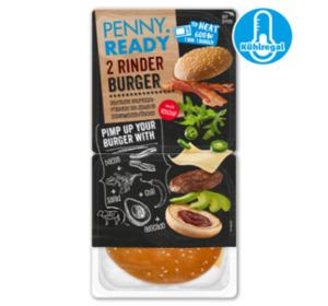 PENNY READY Rinder Burger + Ketchup