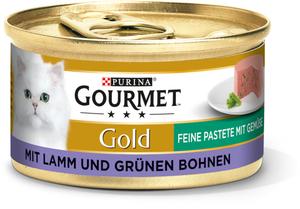 Gourmet Gold Feine Pastete 12x85g Lamm & grüne Bohnen