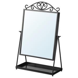 KARMSUND Tischspiegel, schwarz