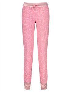 Damen Pyjama-Hose - Allover-Print