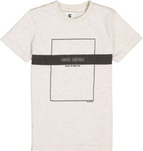 T-Shirt  creme Gr. 128/134 Jungen Kinder