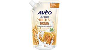 AVEO Cremeseife Milch & Honig Nachfüllbeutel