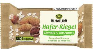 Alnatura Hafer Riegel Mandel + Haselnuss 60G