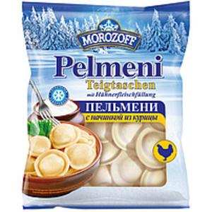"""Teigtaschen """"Pelmeni Morozoff"""" mit Hühnerfleischfüllung, tie..."""