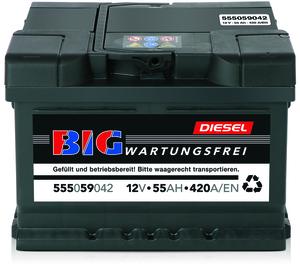 Auto Startbatterie