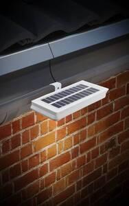 Solar LED Dachrinnenleuchten – 2 Stück