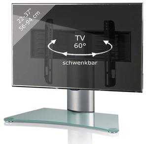 TV-Standfuß Windoxa Mini TV Fernseh Aufsatz Fuß, für Bildschirmdiagonale 66-94