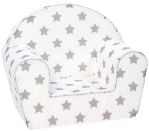 "Kindersessel - ""Stars grey"""