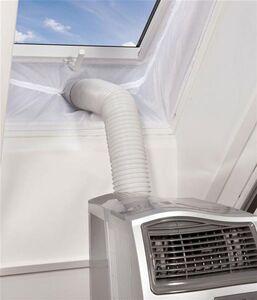 Einhell Hot Air Stop Abluft Spezialfolie für Fenster