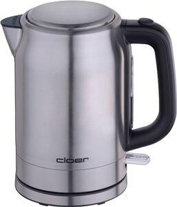 Cloer 4529 Wasserkocher 1,7 L Edelstahl mattiert