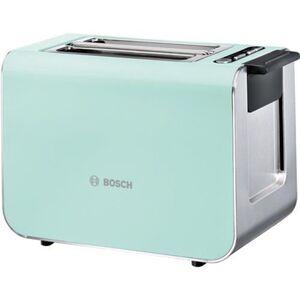 Bosch TAT8612 Toaster Kompakt mint turquoise/Edelstahl 9 Röststufen 2 Schlitze