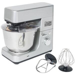 Bestron 4-in-1 Küchenmaschine 1600 W 5 L Grau AKM1600S