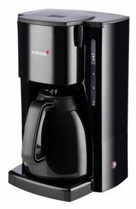 Korona Thermo-Kaffeeautomat 10311 schwarz + 2. Kanne