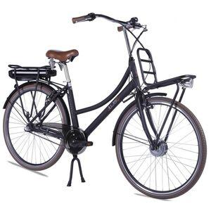 "LLobe E-Bike 28"" Rosendaal 2 Lady schwarz, Batterie 36V/10,4Ah, 3-Gang Shimano"
