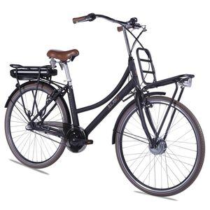 "LLobe E-Bike 28"" Rosendaal 2 Lady schwarz, Batterie 36V/13,2Ah, 3-Gang Shimano"