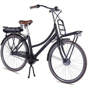 "LLobe E-Bike 28"" Rosendaal 2 Lady schwarz, Batterie 36V/15,6Ah, 3-Gang Shimano"