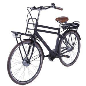"LLobe E-Bike 28"" Rosendaal 2 Gent schwarz, Batterie 36V/10,4Ah, 3-Gang Shimano"