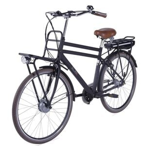 "LLobe E-Bike 28"" Rosendaal 2 Gent schwarz, Batterie 36V/13,2Ah, 3-Gang Shimano"