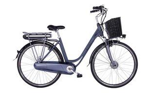 "LLobe E-Bike 28"" Alu City Bike Black Motion 2.0 36V/13,2Ah, 7-Gang Shimano"