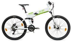 """LLobe E-Bike 27,5"""" Alu MTB-Faltbike FML 830 weiß, 36V/10,4Ah, 9-Gang Shimano"""