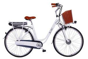 "LLobe E-Bike 28"" Alu City Bike White Motion 2.0 36V/15,6Ah, 7-Gang Shimano"