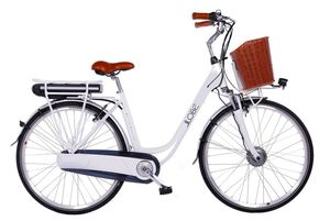 "LLobe E-Bike 28"" Alu City Bike White Motion 2.0 36V/13,2Ah, 7-Gang Shimano"
