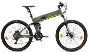 "LLobe E-Bike 27,2"" Alu MTB-Faltbike FML 830 grau, 36V/10,4Ah, 9-Gang Shimano"