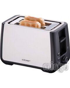 Cloer 3569 2-Scheiben Toaster Ed/Sw