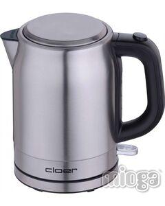 Cloer 4519 Wasserkocher 1 L Edelstahl mattiert