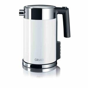 Graef WK 701 Wasserkocher 1,5 Liter Weiß