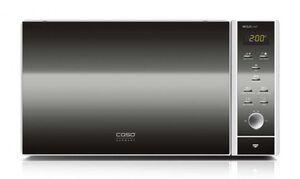 Caso Premium 3350 MCG 25 chef Kombi Mikrowelle mit Grill und Heißluft Edelstahl